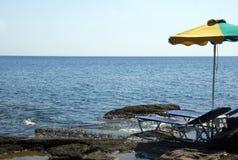 plażowy grek Obraz Stock