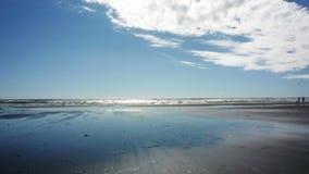 plażowy horyzont Obraz Royalty Free