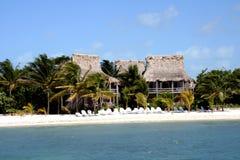 plażowy hotel Obrazy Stock