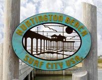 plażowy Huntington Zdjęcie Stock