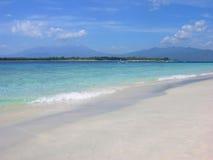 Plażowy i tropikalny denny Indonezja Zdjęcia Royalty Free