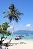 plażowy idylliczny Obraz Royalty Free