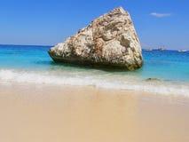plażowy Italy lubi Sardinia tropikalny Fotografia Royalty Free