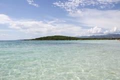 plażowy Italy Sardinia Fotografia Royalty Free