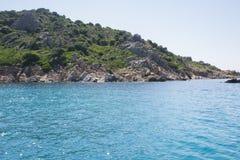 plażowy Italy Sardinia Obrazy Royalty Free