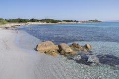 plażowy Italy Sardinia Zdjęcia Stock