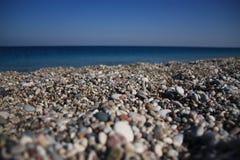 plażowy kamienisty Zdjęcia Stock