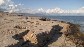 plażowy kamienisty Obraz Stock