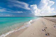 plażowy karaibski idylliczny Zdjęcia Stock