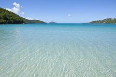 plażowy karaibski tropikalny widok Obrazy Royalty Free