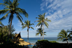 plażowy karon Thailand widok Zdjęcie Royalty Free