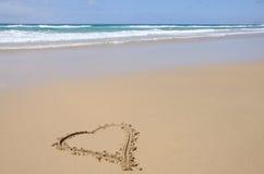 plażowy kierowy symbol Obrazy Stock