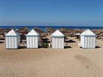 plażowy klub Obrazy Royalty Free