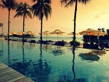 Plażowy klub przy Singapur Obraz Royalty Free
