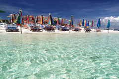 plażowy kolorowy Zdjęcie Royalty Free