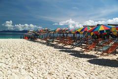 plażowy kolorowy Zdjęcia Stock