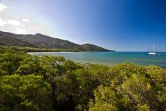 Plażowy krajobraz Fotografia Royalty Free