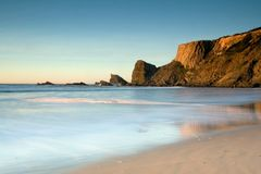 plażowy krajobrazu Obraz Royalty Free