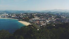 plażowy krajobrazu zdjęcie stock