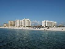 plażowy kurort Florydy Obrazy Royalty Free