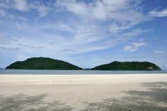 plażowy laem gór sala Thailand dwa Obrazy Stock