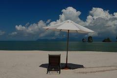 plażowy Langkawi Malaysia rhu tanjung Obraz Stock