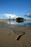 plażowy Langkawi Malaysia rhu tanjung Obrazy Stock