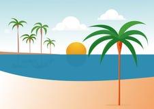 plażowy lato Obraz Royalty Free