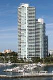 plażowy marina Miami Obraz Stock