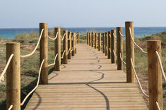 plażowy menorca Fotografia Royalty Free