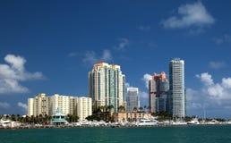plażowy Miami Zdjęcia Stock