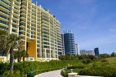 plażowy Miami Obrazy Royalty Free