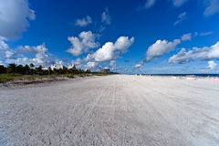 plażowy Miami usa Obrazy Royalty Free