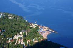 plażowy miasteczko Obrazy Royalty Free
