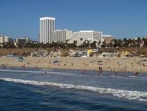 plażowy Monica Santa Zdjęcie Stock