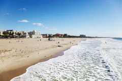 plażowy Monica Santa Zdjęcia Stock