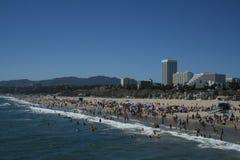 plażowy Monica Santa Fotografia Royalty Free