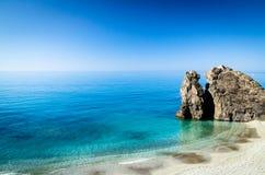 plażowy monterosso s obraz royalty free