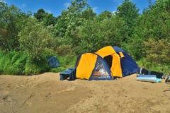 plażowy namiot obrazy royalty free