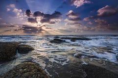 Plażowy niebo Zdjęcie Stock