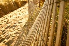 plażowy ogrodzenie Fotografia Royalty Free