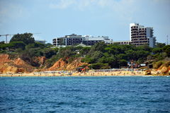 Plażowy Olhos De Agua Zdjęcia Stock