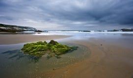plażowy osamotniony Fotografia Royalty Free