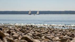 plażowy otoczak Obrazy Stock