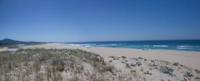 plażowy panoramiczny Obrazy Royalty Free