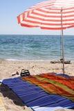 plażowy parasol Obrazy Royalty Free