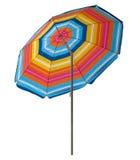 Plażowy parasol - kolorowy Obraz Royalty Free
