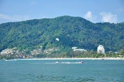 plażowy patong Phuket Thailand Zdjęcie Royalty Free