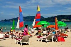 plażowy patong Phuket Thailand Fotografia Stock