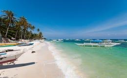 plażowy Philippine zdjęcia royalty free